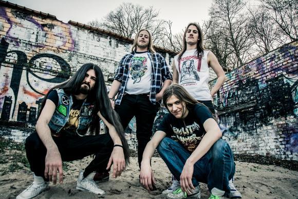 Metal bands thrash 80er VMF14